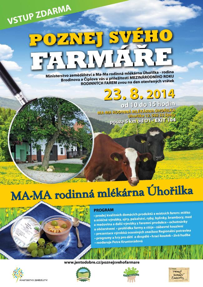 Ma-Ma rodinná mlékárna Úhořilka