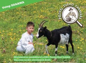 Zveme Vás na EKO-farmu Kozí hrádek – 25. 6. 2016