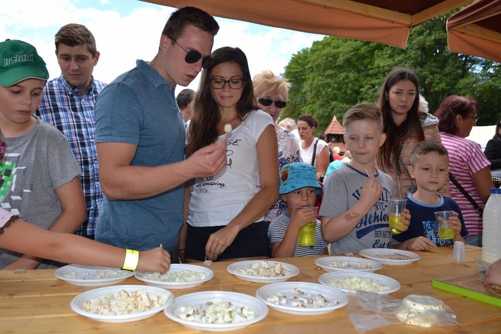 Nejen ochutnávka sýrů zahájila první prázdninovou sobotu na Farmě Na Rychtě