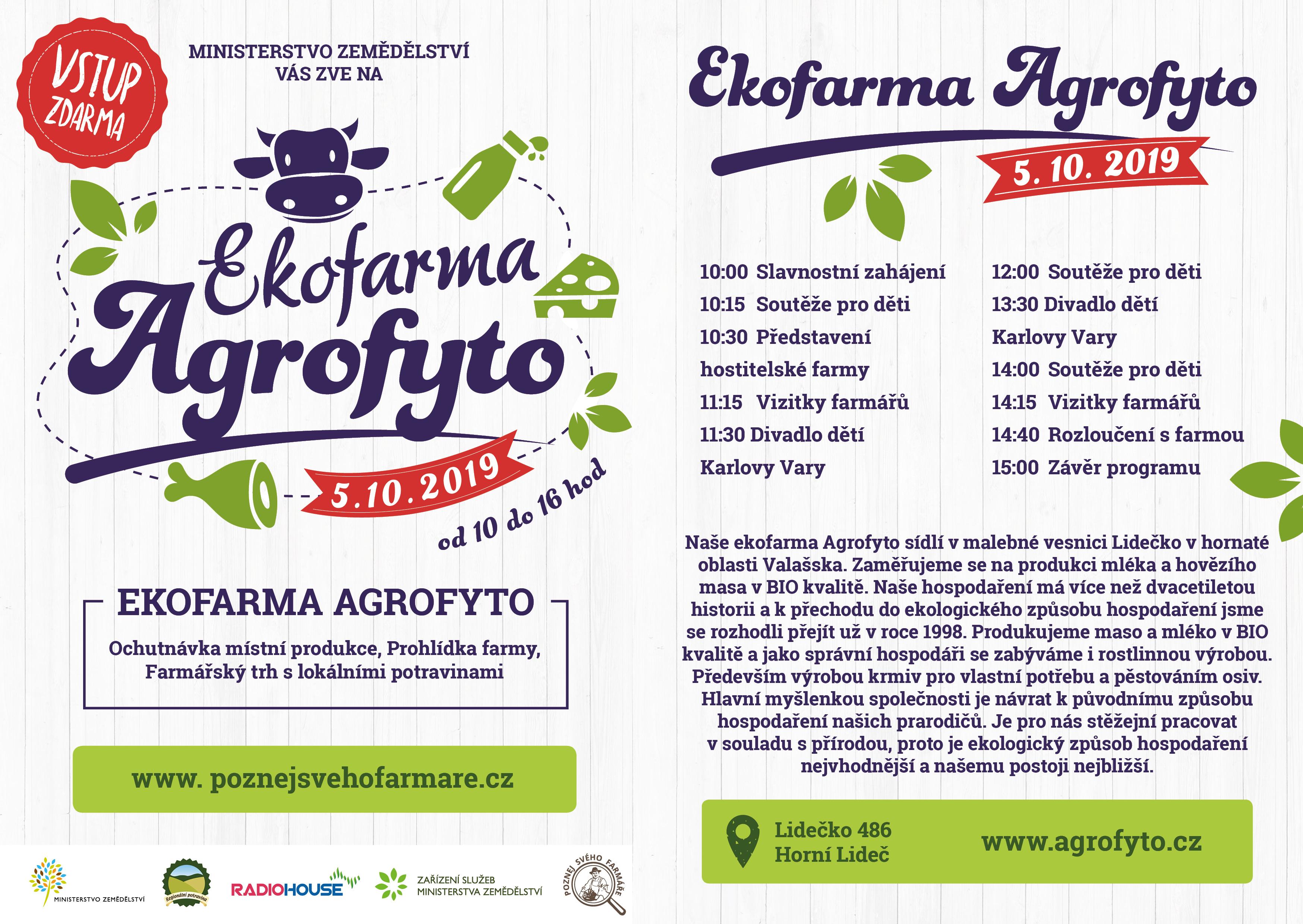 Ekofarma Agrofyto – Lidečko