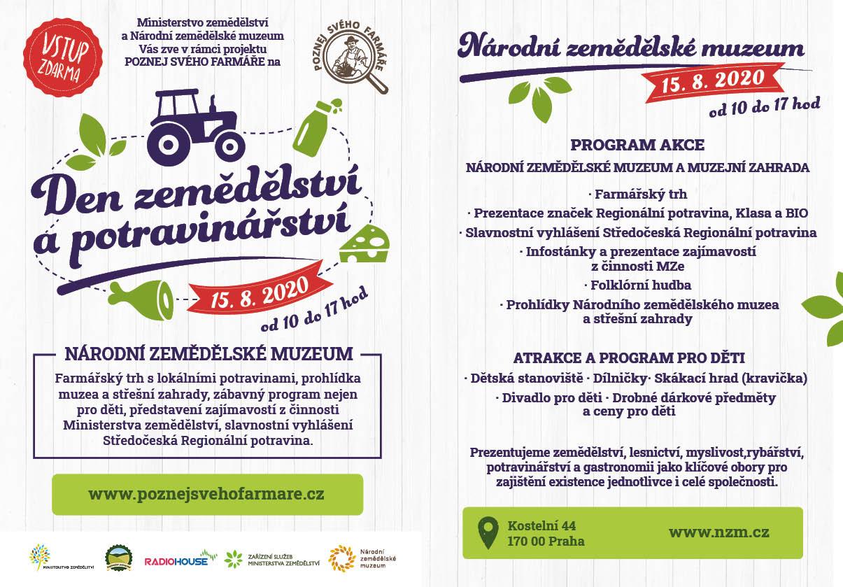 Den zemědělství a potravinářství – Národní zemědělské muzeum